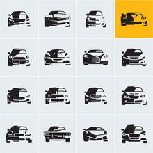 Car Icons, Graphic Vector Car ...