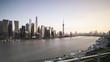 view of city at waterfront,shaghai,china