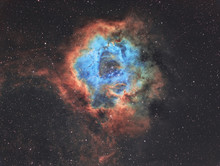 The Rosette Nebula In Widefiel...