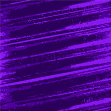 Rough Purple Diagonal Lines, Textured Vector Background Pattern.