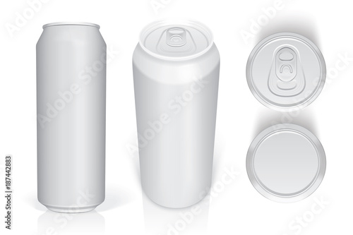 beer can easily change colors mock up vector template buy this