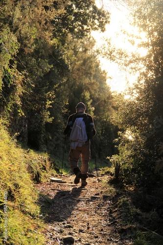 Deurstickers Liguria sentier ligure, Cinque Terre, Italie