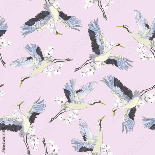 japonski-bezszwowy-wzor-ptaki-i-woda-tradycyjna