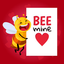 Bee Vector Illustration. Be My...