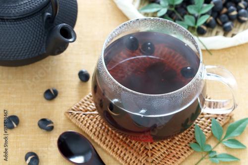 Fotografie, Obraz  黒豆茶