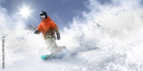 Recess Fitting Winter sports winter skier