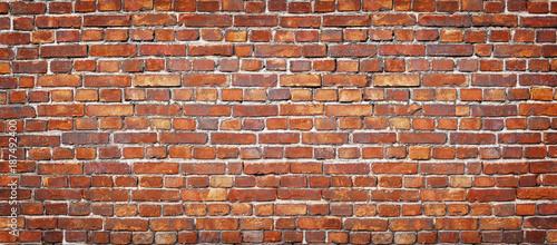 Photo sur Toile Brick wall brick wall background