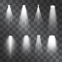 Silver Light Projector Beams S...