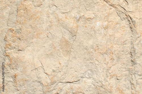 Photo Beige rustic stone wall of a coastal village house