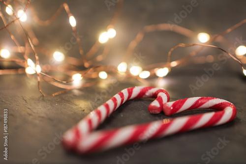 Fotografie, Obraz  sucre d'orge, Noël