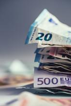 Euro Money Euro Banknotes Euro...