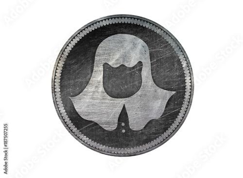 Photo  Coin of faceless men