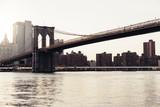 Brooklyn bridge of New York. - 187508402