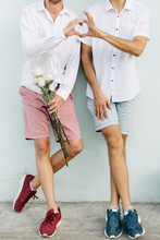 Male Couple In Love
