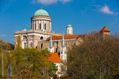 Fotografie, Obraz  Esztergom Basilica in Hungary