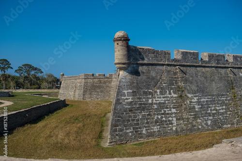 Foto  Castillo de San Marcos, St. Augustine, FL, USA
