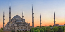 Sultan Ahmed Mosque In Istanbu...