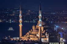 Yeni Cami Mosque In Istanbul, ...