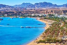 The Beach Line Of El Maya Bay, Sharm El Sheikh, Egypt