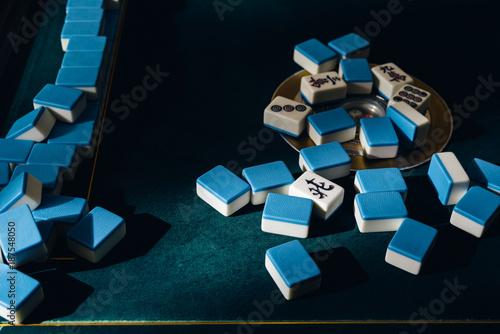 mahjong tiles Poster