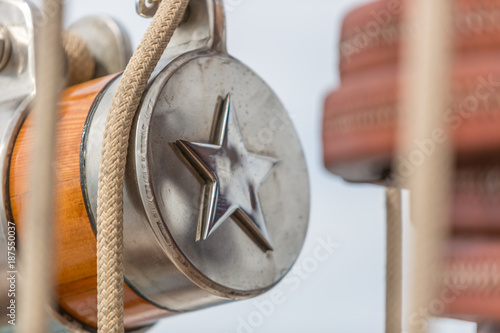 Photo  classic Gloucester fishing schooner