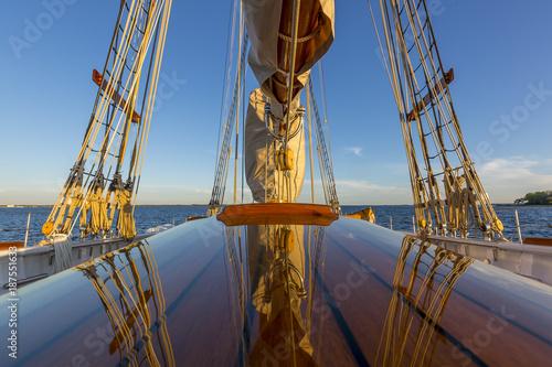 Obraz na plátně  classic Gloucester fishing schooner