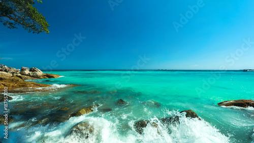 Wonderful turqoise water su...