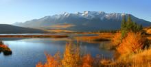 Talbot Lake In Jasper National...