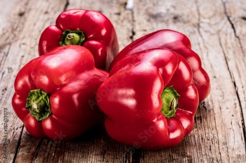 Obraz na plátne Frische Rote Paprika