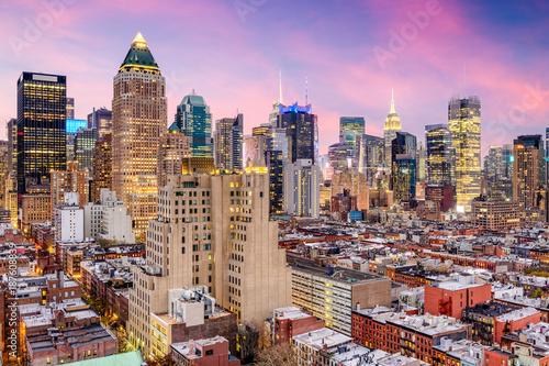 New York City Midtown Cityscape