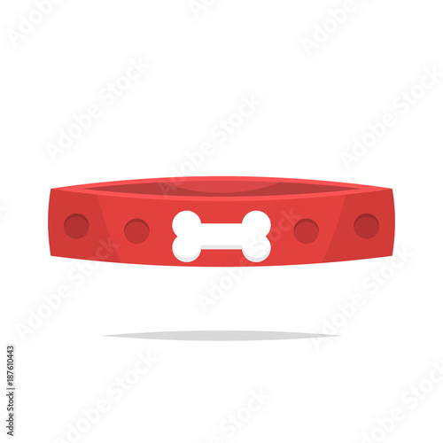 Foto Dog collar vector