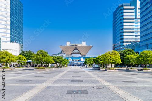 Foto op Canvas Tokio 東京ビッグサイト周辺の街並み