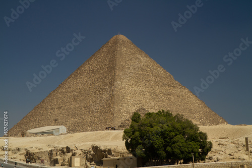 In de dag Egypte egypt pyramids in cairo