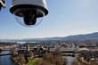 Die Webcam von Zürich Tourismus auf dem Dach des MAriott Hotels.