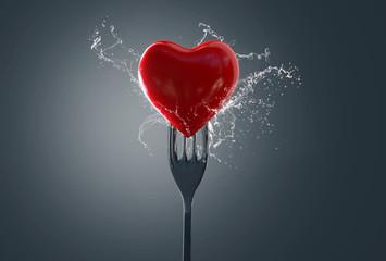 Miłość przechodzi przez żołądek
