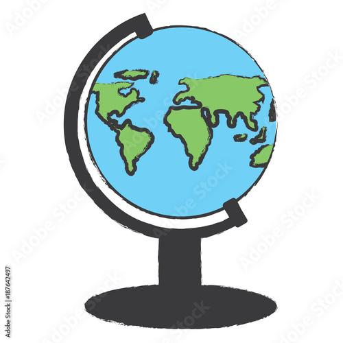 Fotografia  geography tool icon image