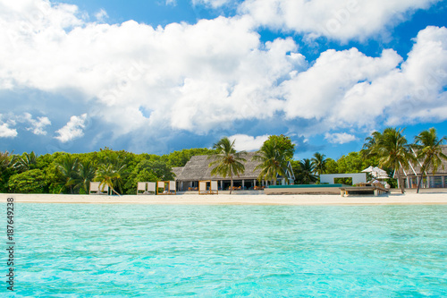 Tuinposter Tropical strand Beautiful tropical landscape
