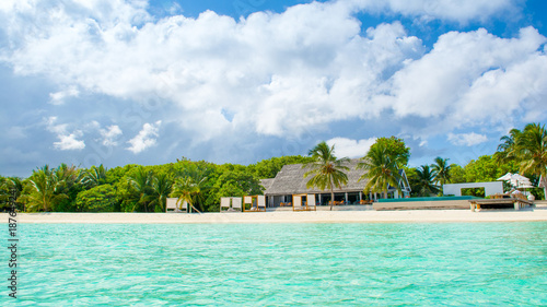 Staande foto Tropical strand Beautiful tropical landscape