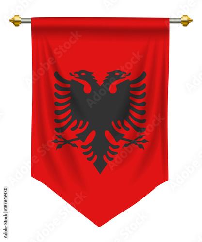 Photo Albania Pennant