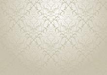 Vector Damask Wallpaper Design...