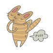 doodle farting cat