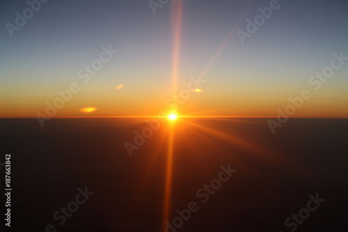 Leinwand Poster Spectacle en altitude