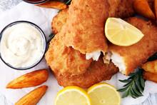 Traditional British Fish And C...