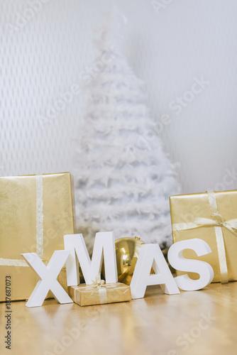 Weihnachtsdeko Xmas.Weihnachtsdeko Schriftzug Xmas Buy This Stock Photo And Explore