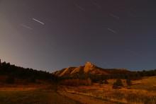 Flat Irons In Boulder, Colorado