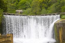 Artificial Waterfall In Abkhazia