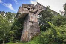 Ruined Railroad Bridge In Kruk...