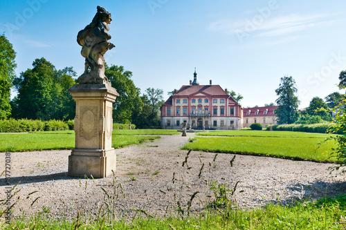 Photo  Libechov castle near Melnik, Central Bohemia, Czech republic