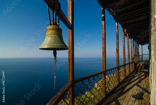 Fotografie, Obraz  The monastery of Simonopetra in Mount Athos monastic republic, Greece