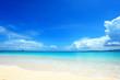 canvas print picture - 沖縄の美しいビーチ